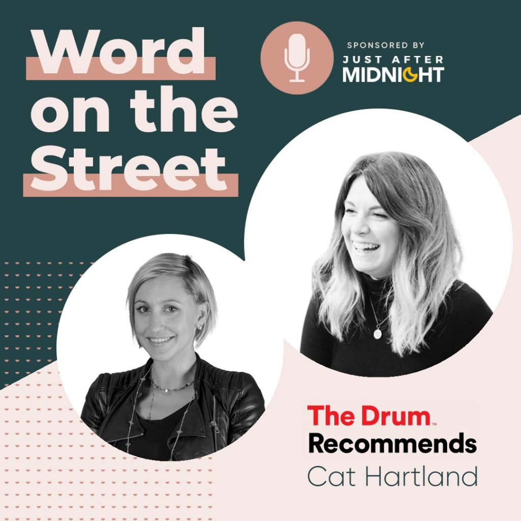 Word on the Street podcast season 2 episode 1 infographic