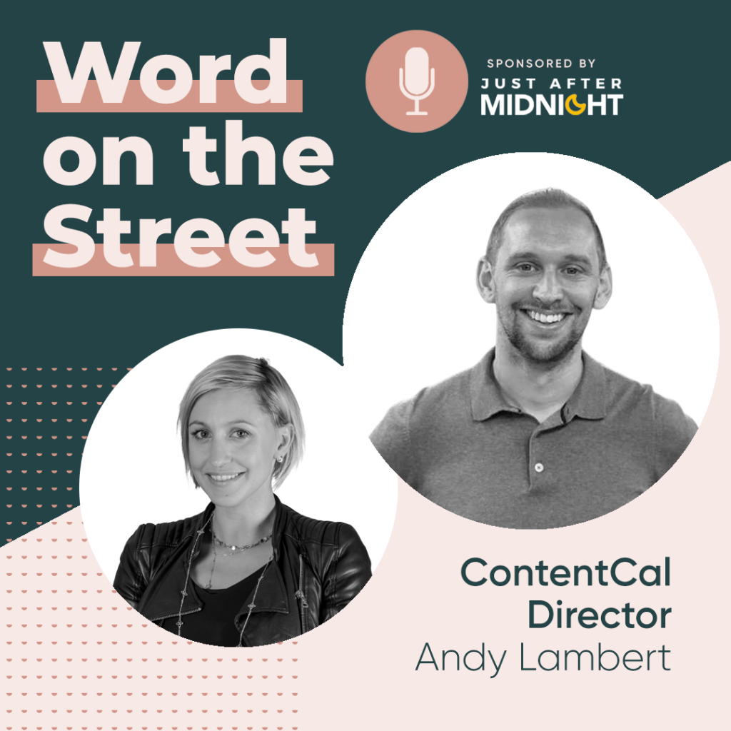 Word on the Street podcast 2 episode 2 infographic