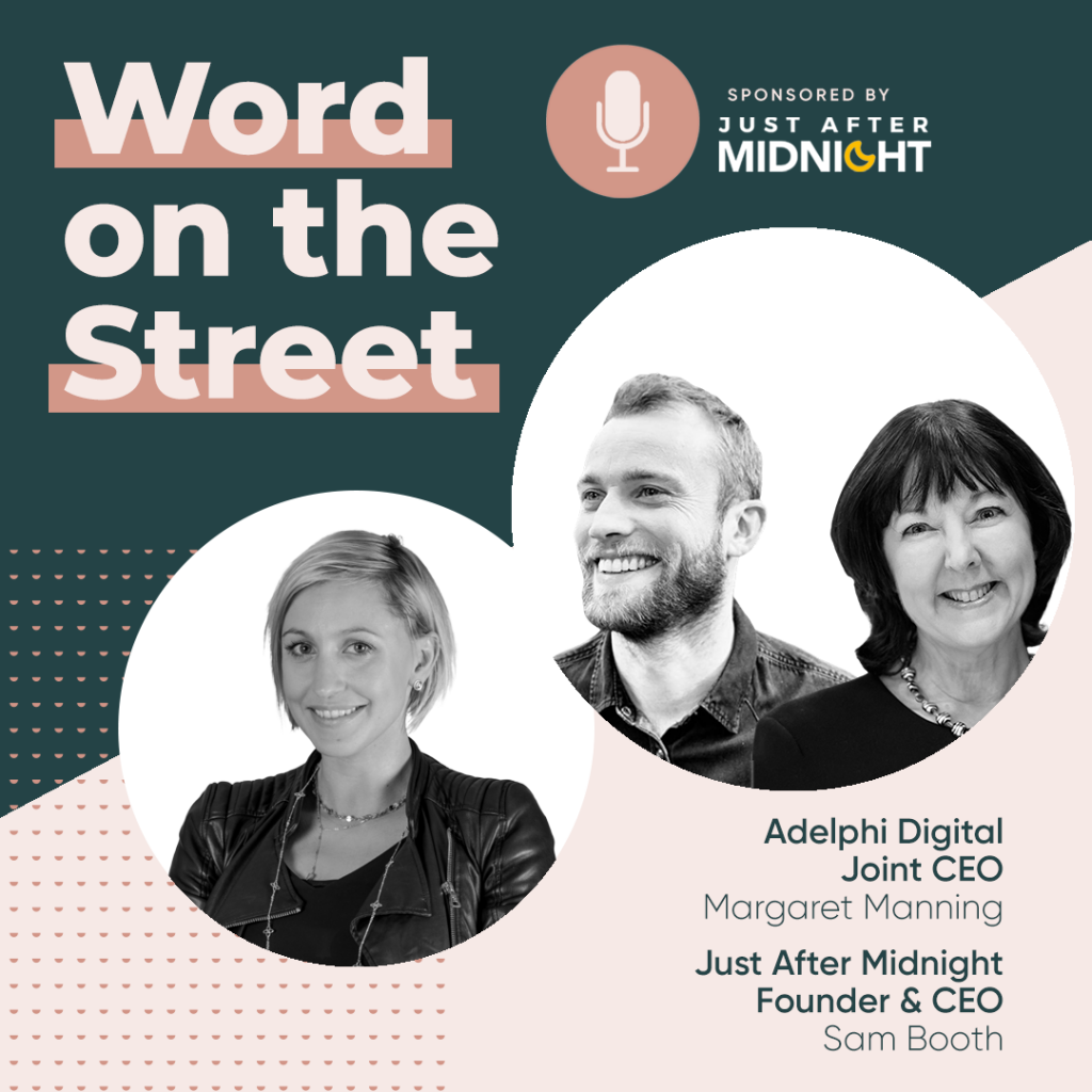 Word on the Street podcast season 2 episode 2 infographic
